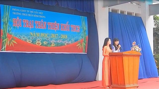 Hội trại thân thiện khối THCS năm học 2017-2018